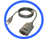 USB to Single RS232 Converter